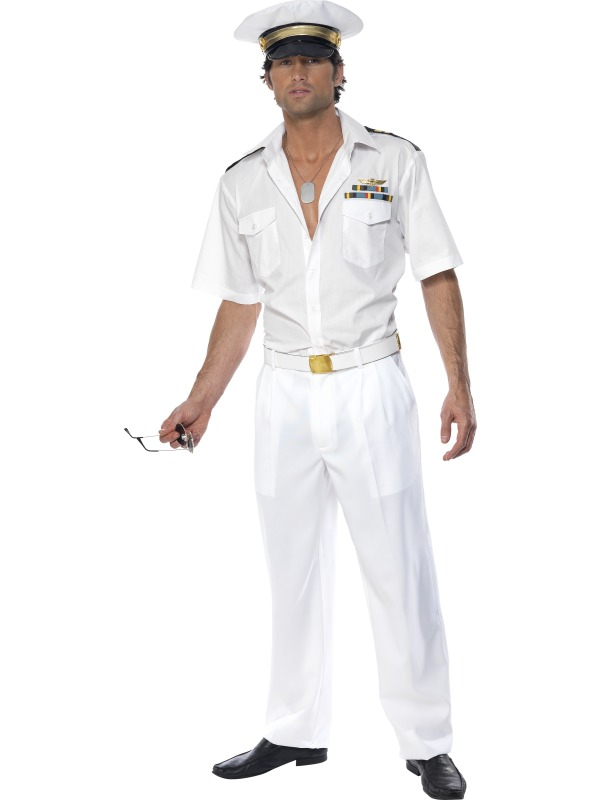 Top Gun Captain Costume ef-32896L (smiffys)