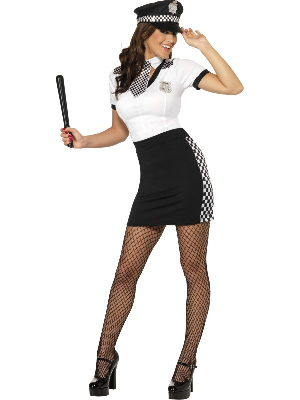 Cop Costume female ef-33701S (smiffys)