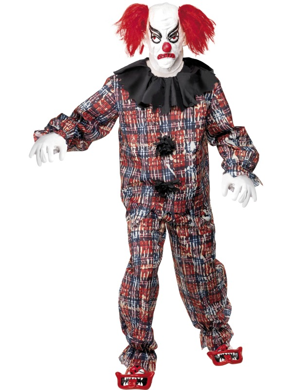 Scary Clown Costume ef-34114L (smiffys)