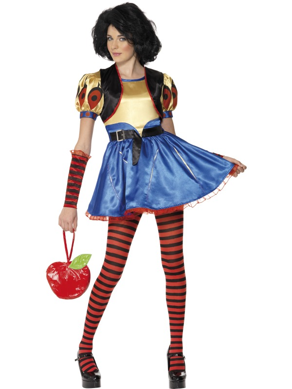 Teen Rebel Toons Snow White Costume ef-34195T