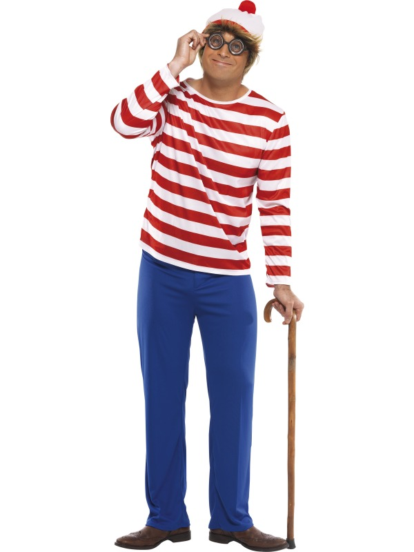 Where's Wally? Costume ef-34591M