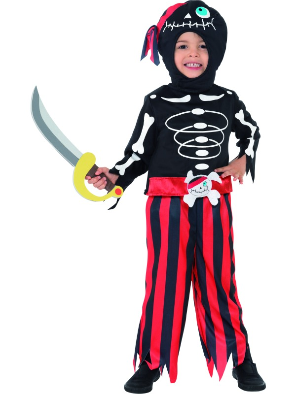 Pirate Skeleton Costume ef-35647T1