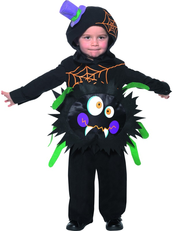 Crazy Spider Costume ef-35650T1 (1-2yrs)