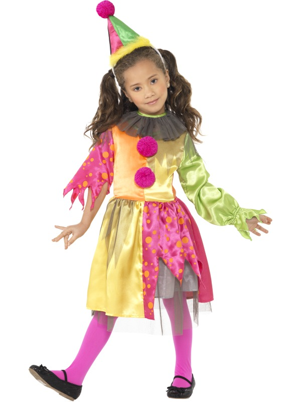 Scary Girl Clown Costume ef-35671S