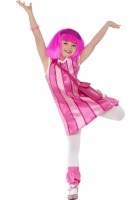 Lazy Town, Stephanie Costume ef-38358M (medium 7-9