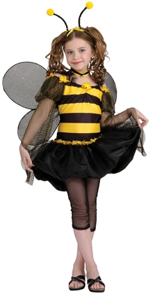 Sweet bee costume tween 886118