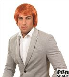 Ginger boy band wig 6437 Fun Shack