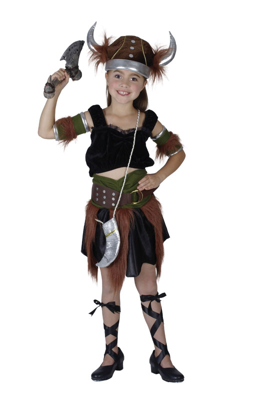 Viking Girl costumeCC782 large 9-11yrs