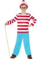 Where's Wally Costume ef-39971M