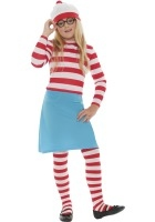 Where's Wally Wenda Costume ef-38793M