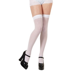 White stockings BA040