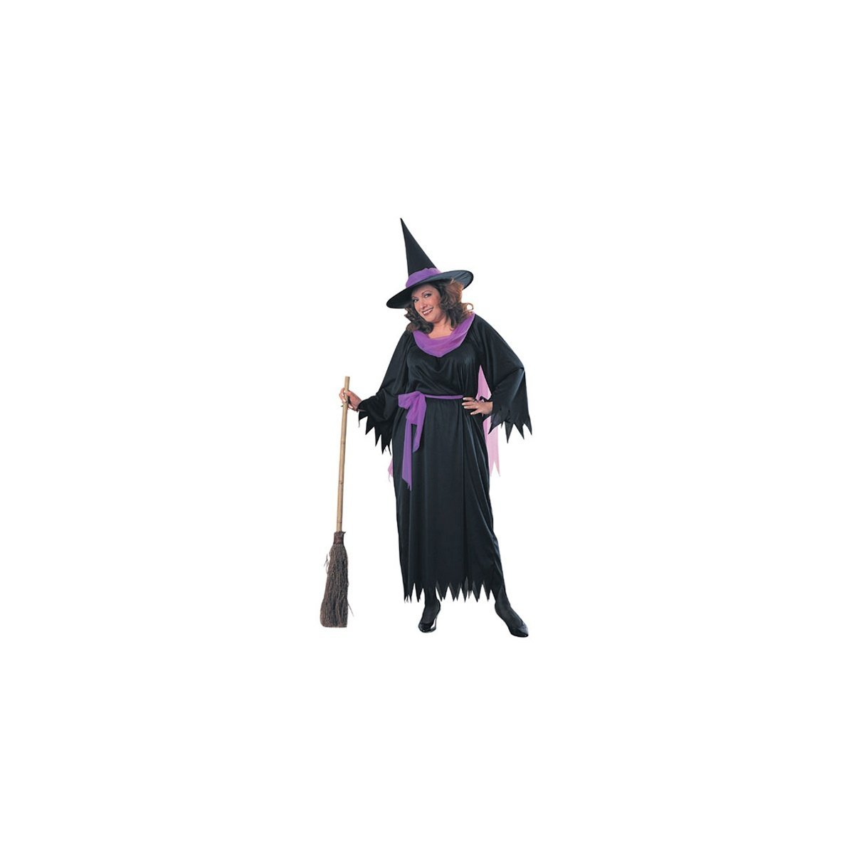 Wicked witch plus size costume 17404